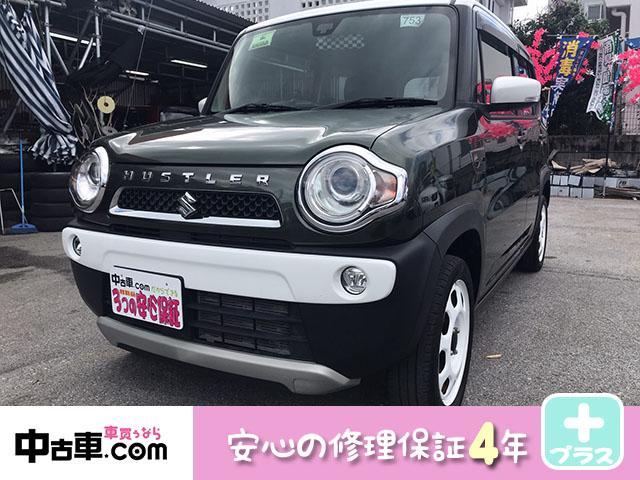沖縄県の中古車ならハスラー Jスタイル 4年保証対象車(2年保証付) 音楽も聴けるフルセグBT付 バックカメラ 嬉しいタイヤ新品