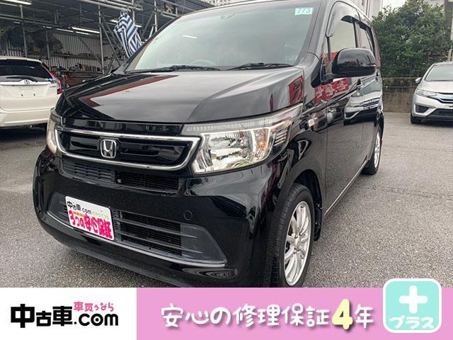 沖縄の中古車 ホンダ N-WGN 車両価格 63万円 リ済込 2014(平成26)年 9.0万km ブラック