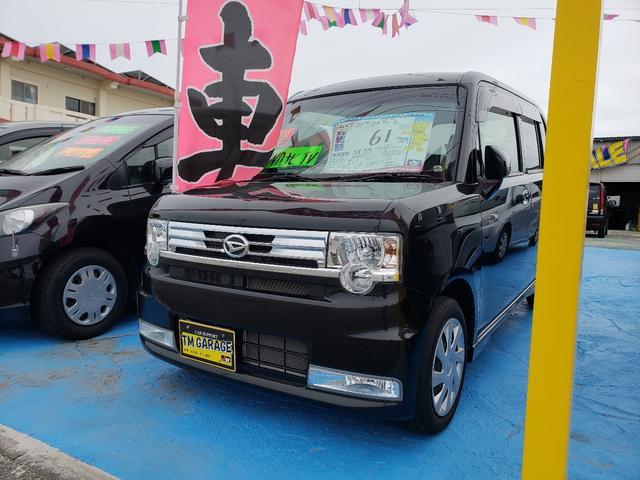 沖縄の中古車 ダイハツ ムーヴコンテ 車両価格 54万円 リ済込 平成24年 9.4万km ブラックM