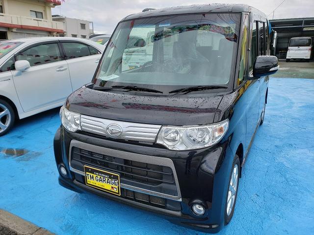 沖縄の中古車 ダイハツ タント 車両価格 72万円 リ済込 2013(平成25)年 7.1万km ブラックM