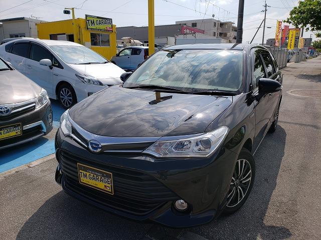 沖縄県うるま市の中古車ならカローラフィールダー ハイブリッド
