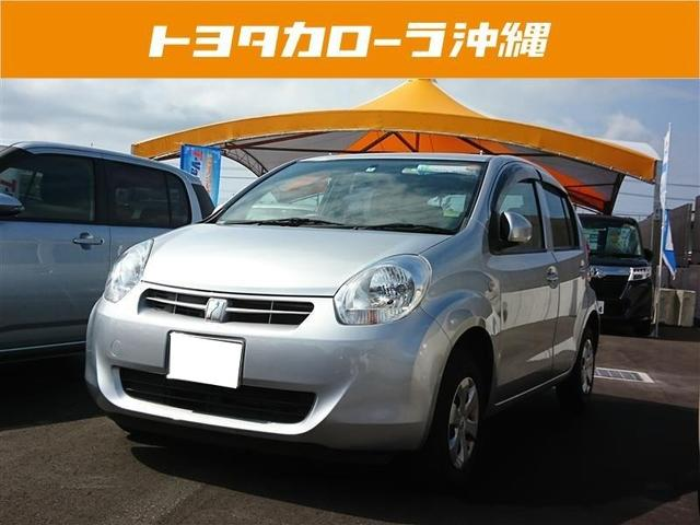 沖縄の中古車 トヨタ パッソ 車両価格 49万円 リ済別 平成24年 5.7万km シルバー
