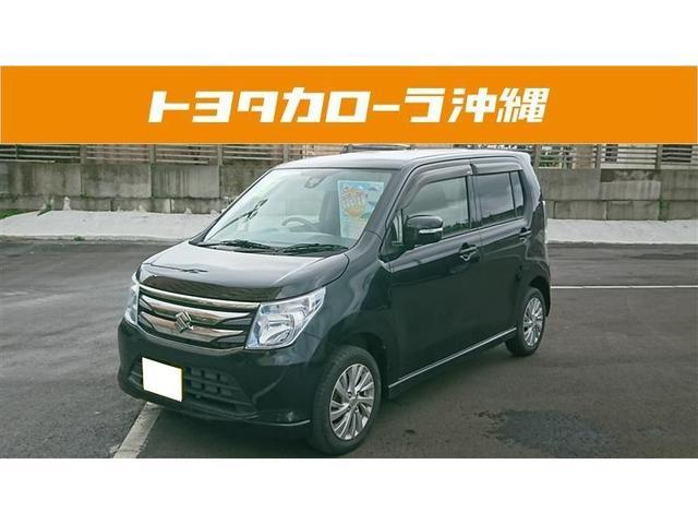 沖縄の中古車 スズキ ワゴンR 車両価格 111万円 リ済別 2015(平成27)年 2.3万km ブラック