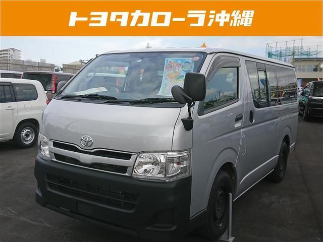沖縄の中古車 トヨタ レジアスエースバン 車両価格 168万円 リ済別 平成25年 4.6万km シルバー