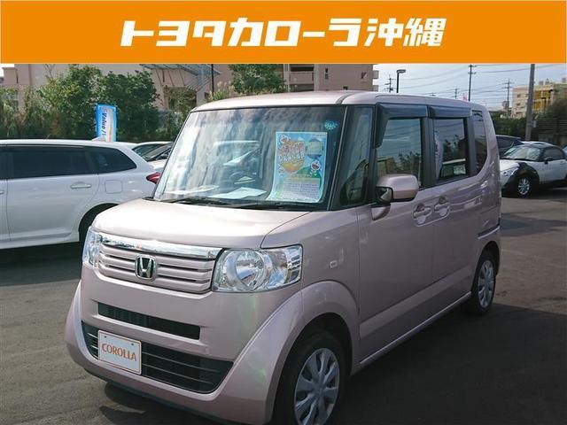 沖縄の中古車 ホンダ N-BOX+ 車両価格 98万円 リ済別 平成25年 4.3万km ピンク