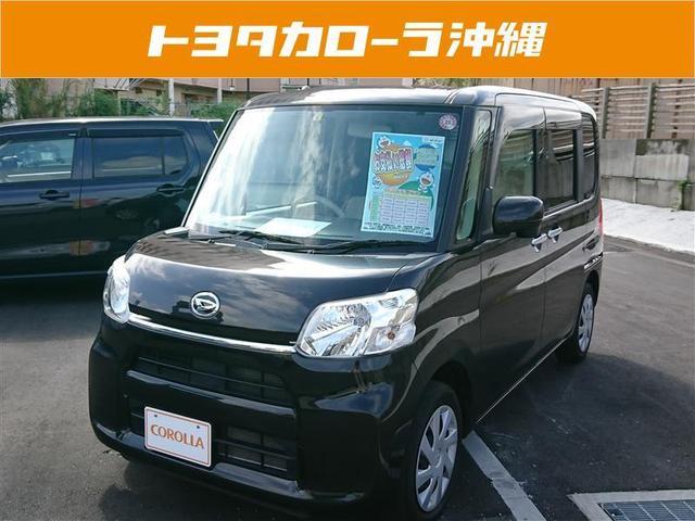沖縄の中古車 ダイハツ タント 車両価格 114万円 リ済別 2015(平成27)年 3.8万km ブラック