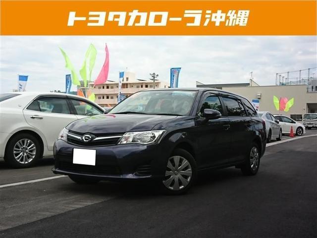 沖縄の中古車 トヨタ カローラフィールダー 車両価格 83万円 リ済別 2014(平成26)年 7.0万km パープル