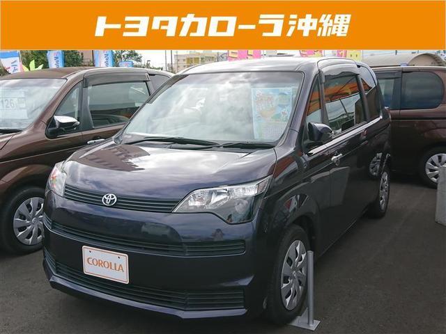 沖縄の中古車 トヨタ スペイド 車両価格 104万円 リ済別 2013(平成25)年 3.8万km ブルー