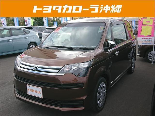 沖縄の中古車 トヨタ スペイド 車両価格 108万円 リ済別 平成25年 5.1万km ブラウン