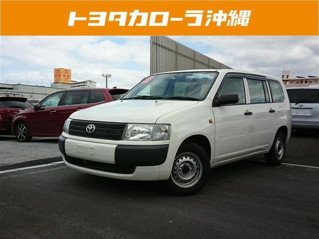 沖縄の中古車 トヨタ プロボックスバン 車両価格 89万円 リ済別 2013(平成25)年 3.2万km ホワイト