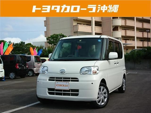 沖縄の中古車 ダイハツ タント 車両価格 79万円 リ済別 2012(平成24)年 3.0万km ホワイト