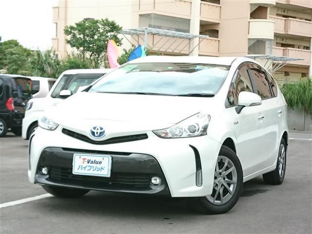 沖縄県の中古車ならプリウスアルファ S チューン ブラックII