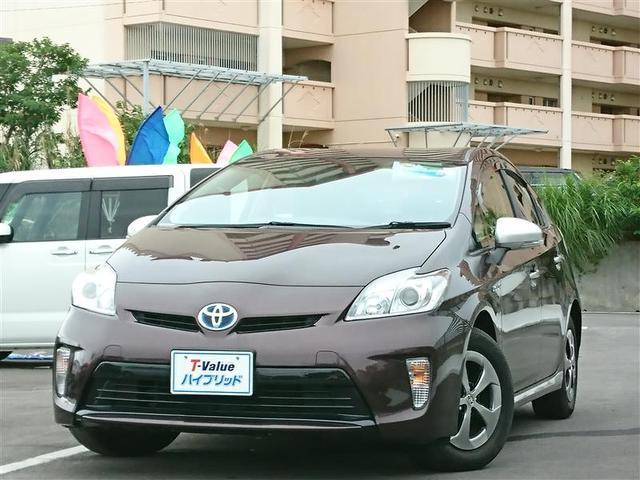 沖縄の中古車 トヨタ プリウス 車両価格 149万円 リ済別 2014(平成26)年 5.0万km パープル