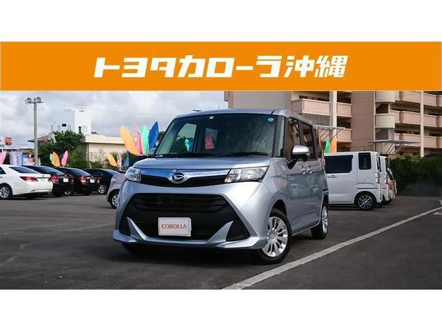 沖縄の中古車 ダイハツ トール 車両価格 147万円 リ済別 2018(平成30)年 1.1万km シルバー