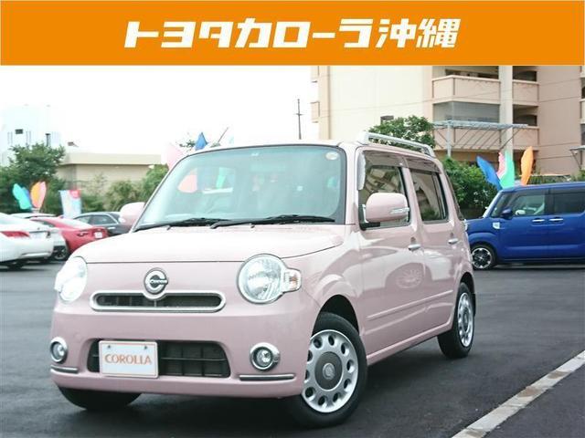 沖縄の中古車 ダイハツ ミラココア 車両価格 76万円 リ済別 2012(平成24)年 3.0万km ピンク