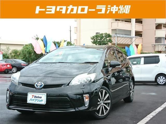 沖縄の中古車 トヨタ プリウス 車両価格 156.8万円 リ済別 2013(平成25)年 4.2万km ブラック