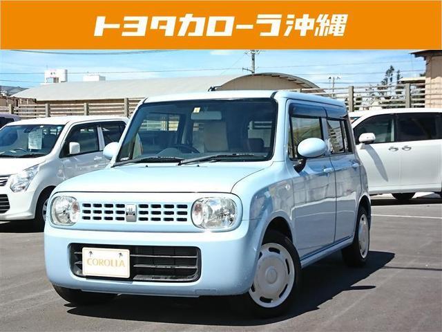 沖縄の中古車 スズキ アルトラパン 車両価格 58万円 リ済別 2012(平成24)年 6.0万km ブルー