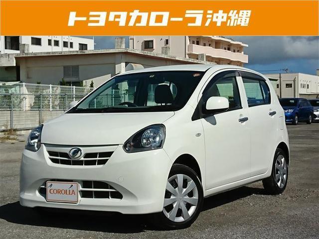 沖縄の中古車 ダイハツ ミライース 車両価格 65.2万円 リ済別 2013(平成25)年 3.2万km ホワイト