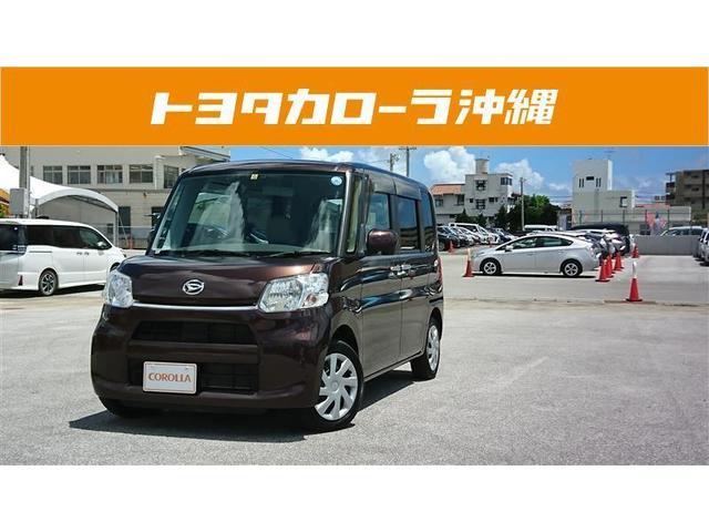 沖縄の中古車 ダイハツ タント 車両価格 89万円 リ済別 2014(平成26)年 3.9万km ワイン