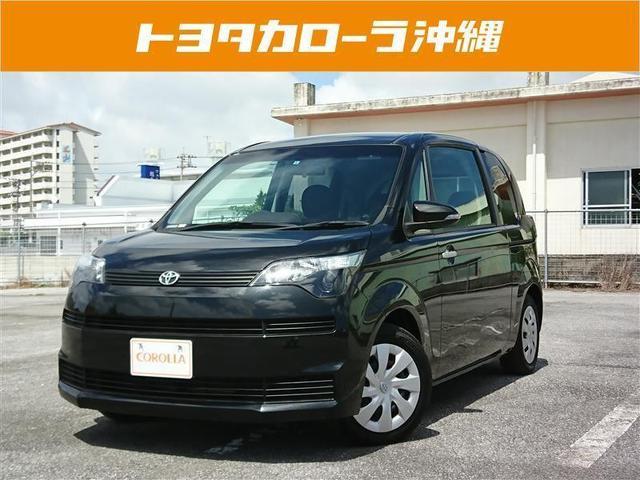 沖縄の中古車 トヨタ スペイド 車両価格 99万円 リ済別 2013(平成25)年 3.6万km ブラック