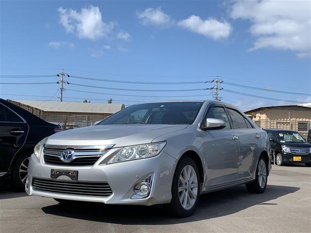沖縄の中古車 トヨタ カムリ 車両価格 143.6万円 リ済別 2012(平成24)年 4.1万km シルバー