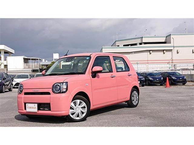 沖縄の中古車 ダイハツ ミラトコット 車両価格 105万円 リ済別 2018(平成30)年 0.2万km ピンク
