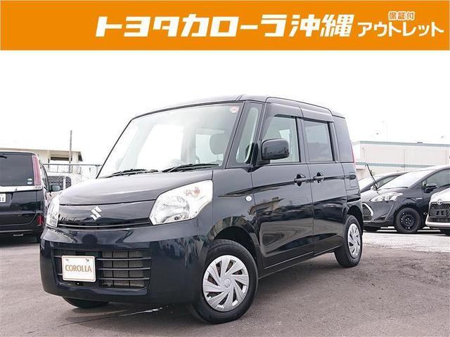 沖縄の中古車 スズキ スペーシア 車両価格 42万円 リ済別 2013(平成25)年 14.2万km クロ
