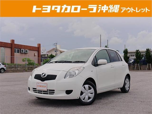 沖縄の中古車 トヨタ ヴィッツ 車両価格 25万円 リ済別 2006(平成18)年 6.0万km ベージュ