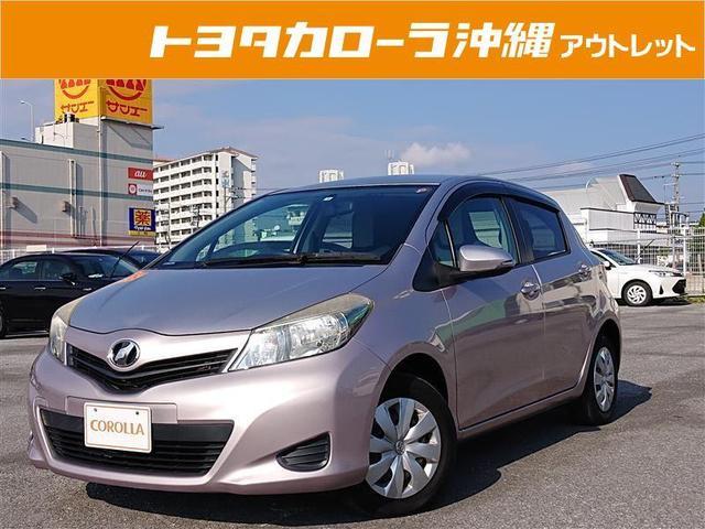 沖縄の中古車 トヨタ ヴィッツ 車両価格 33万円 リ済別 2011(平成23)年 5.2万km ピンク