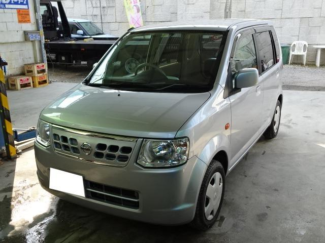 沖縄の中古車 日産 オッティ 車両価格 35万円 リ済込 2012(平成24)年 7.3万km シルバーM