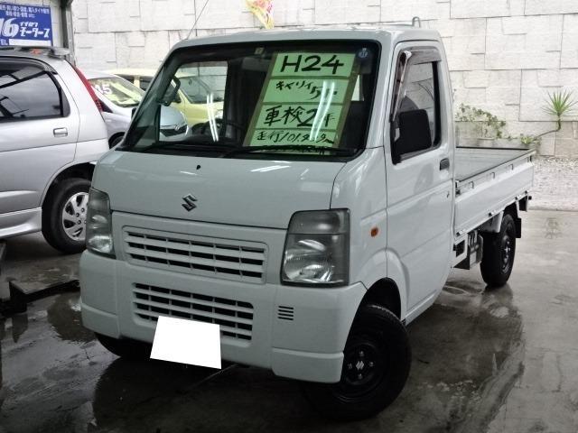 沖縄の中古車 スズキ キャリイトラック 車両価格 45万円 リ済込 2012(平成24)年 10.1万km ホワイト