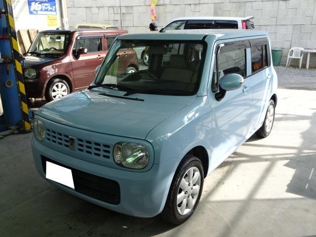 沖縄の中古車 スズキ アルトラパン 車両価格 39万円 リ済込 2012(平成24)年 10.2万km ライトブルー