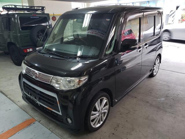 沖縄の中古車 ダイハツ タント 車両価格 60万円 リ未 2012(平成24)年 9.3万km ブラック