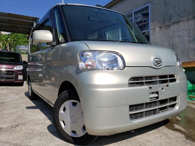 沖縄の中古車 ダイハツ タント 車両価格 17万円 リ済込 2008(平成20)年 15.4万km ゴールド