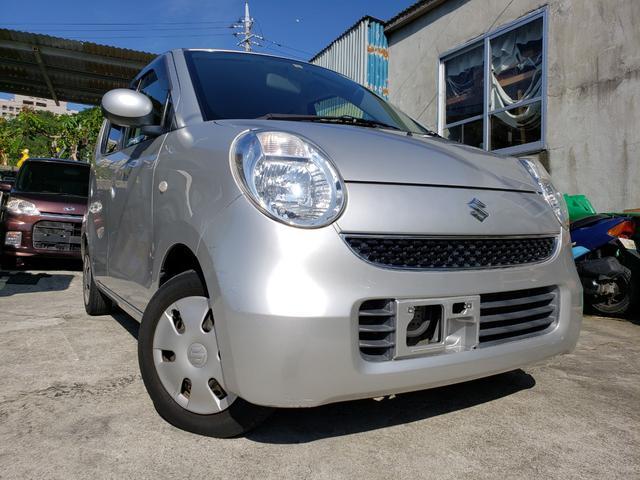 沖縄の中古車 スズキ MRワゴン 車両価格 14万円 リ済込 2008(平成20)年 9.2万km シルバー