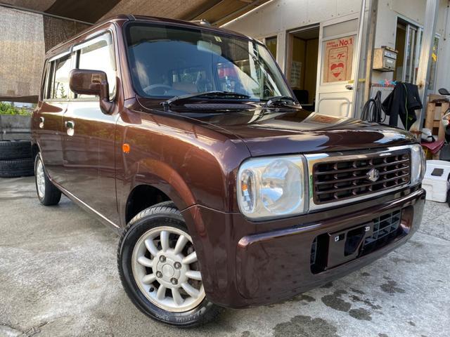沖縄の中古車 スズキ アルトラパン 車両価格 20万円 リ済込 2008(平成20)年 11.8万km ブラウン