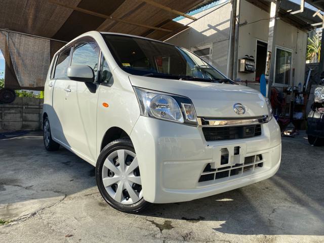 沖縄の中古車 ダイハツ ムーヴ 車両価格 24万円 リ済込 2013(平成25)後 13.9万km ホワイト