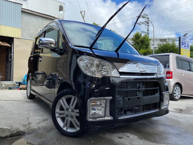 沖縄県の中古車ならタントエグゼ カスタムRS ディーラー車 2年保証対象 ターボ車 CVT