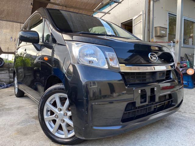 沖縄の中古車 ダイハツ ムーヴ 車両価格 37万円 リ済込 2013(平成25)年 9.2万km ブラック