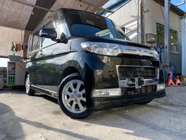 沖縄の中古車 ダイハツ タント 車両価格 32万円 リ済込 2008(平成20)年 10.1万km ブラックM