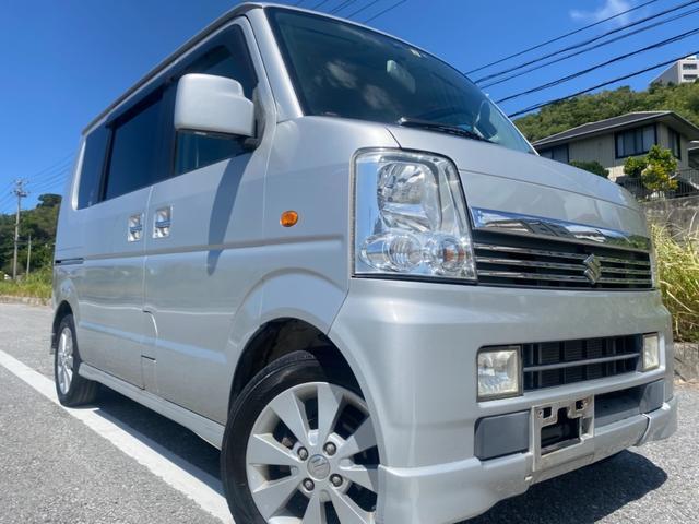 沖縄県の中古車ならエブリイワゴン PZターボスペシャル 楽々ターボ車 ETC 4WD オートサイドステップ パワースライドドア