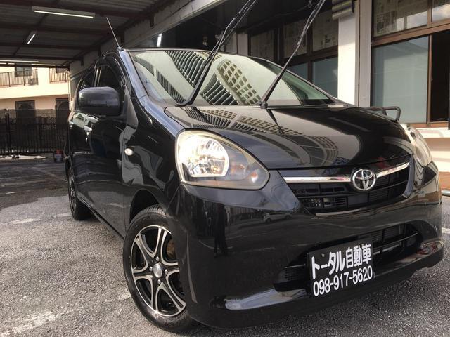沖縄の中古車 トヨタ ピクシスエポック 車両価格 39万円 リ済込 2012(平成24)年 9.0万km ブラックM