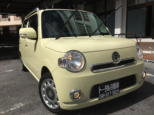 沖縄県の中古車ならミラココア ココアプラスX スマートキー エコアイドル 本土無事故