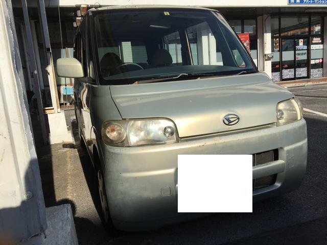 沖縄の中古車 ダイハツ タント 車両価格 5万円 リ済込 2004(平成16)年 10.4万km ゴールド