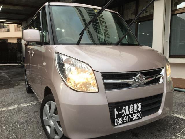 沖縄県の中古車ならパレット T スマートキー バックモニター 本土無事故
