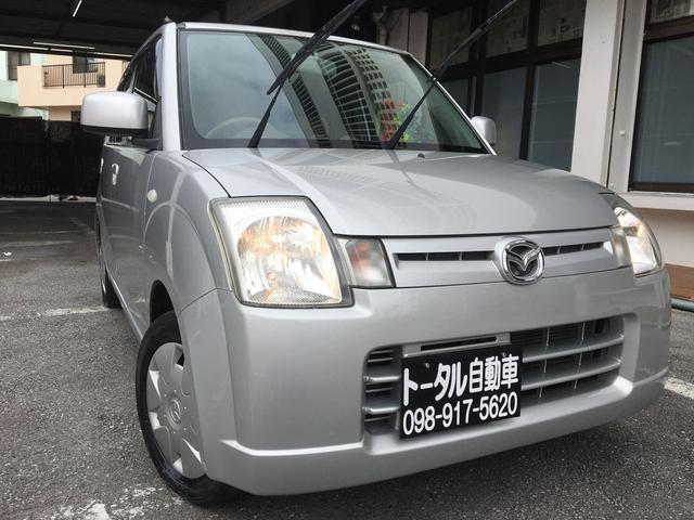 沖縄の中古車 マツダ キャロル 車両価格 14万円 リ済込 2005(平成17)年 4.9万km シルバー