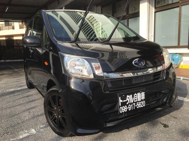 沖縄の中古車 スバル ステラ 車両価格 34万円 リ済込 2013(平成25)年 11.1万km ブラックM