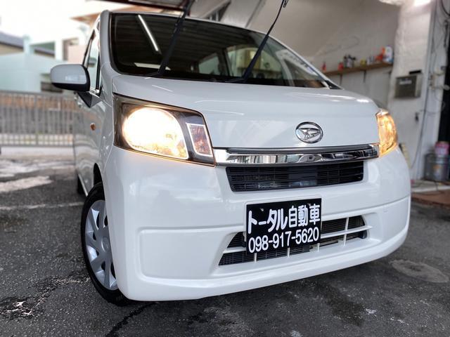 沖縄の中古車 ダイハツ ムーヴ 車両価格 33万円 リ済込 2013(平成25)年 11.1万km ホワイト