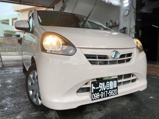 沖縄の中古車 ダイハツ ミライース 車両価格 23万円 リ済込 2011(平成23)年 12.6万km ピンク