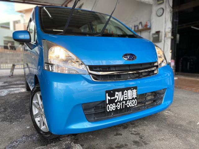 沖縄の中古車 スバル ステラ 車両価格 36万円 リ済込 2012(平成24)年 10.0万km ブルー